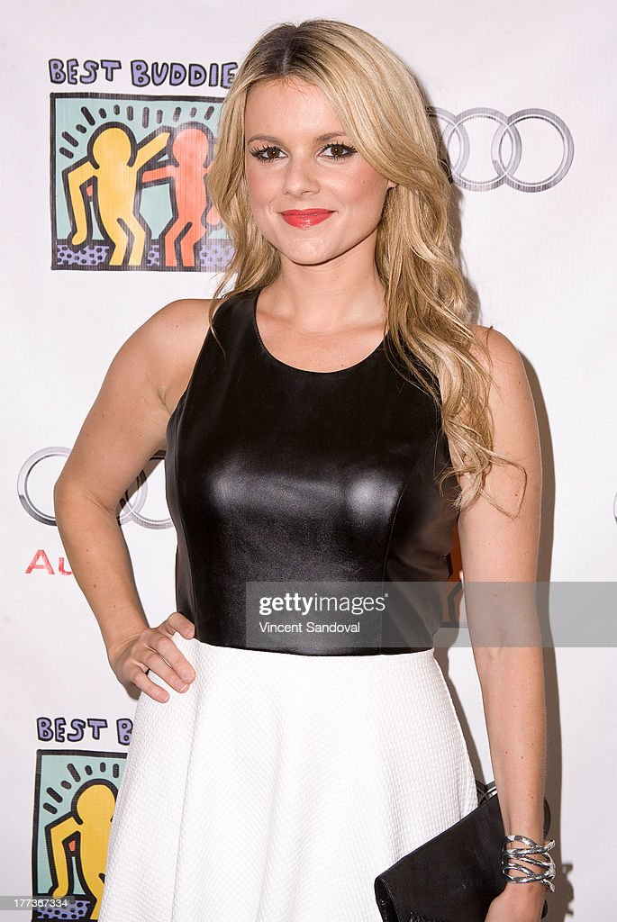 Reality TV personality Ali Fedotowsky attends the Best Buddies poker event at Audi Beverly Hills on August 22, 2013 in Beverly Hills, California.