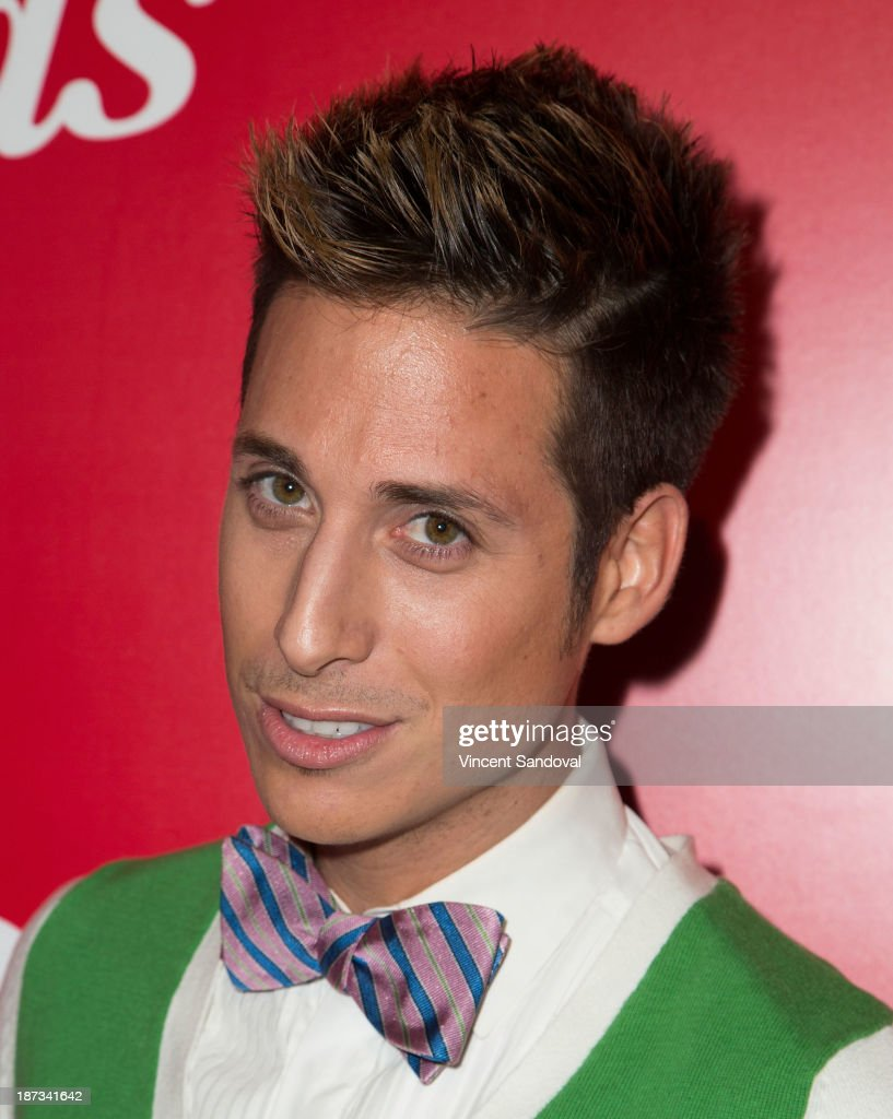 Reality Tv personality Anthony Pazos attends WE tv's premiere party for 'The LYLAS' at Warwick on November 7, 2013 in Hollywood, California.