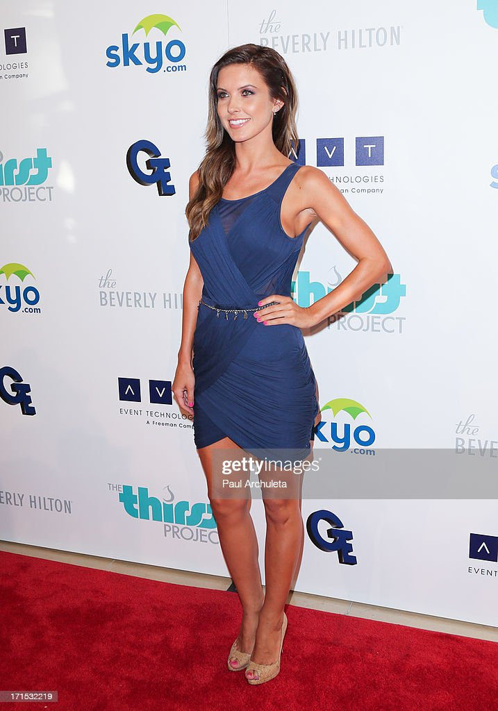 Reality TV Personality Audrina Patridge attends the 4th annual Thirst Gala at The Beverly Hilton Hotel on June 25, 2013 in Beverly Hills, California.