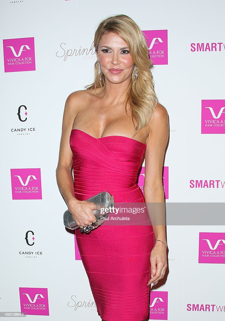 Reality TV Personality Brandi Glanville attends Vivica A. Fox's 50th birthday celebration at Philippe Chow on August 2, 2014 in Beverly Hills, California.