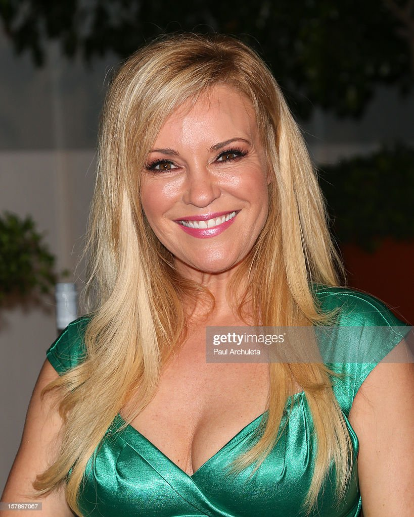 Reality TV Personality Bridget Marquardt attends the Cell Phones For Soldiers charity event sponsored by Voli Light Vodka at Sky Bar in the Mondrian Hotel on December 6, 2012 in West Hollywood, California.