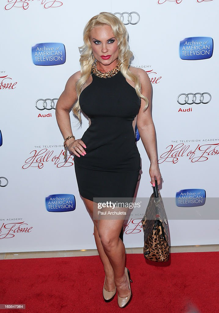 Reality TV Personality Coco Austin attends the Academy Of Television Arts & Sciences 22nd annual Hall Of Fame induction gala at The Beverly Hilton Hotel on March 11, 2013 in Beverly Hills, California.