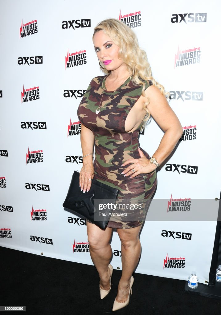 Reality TV Personality Coco Austin attends the Loudwire Music Awards at The Novo by Microsoft on October 24, 2017 in Los Angeles, California.
