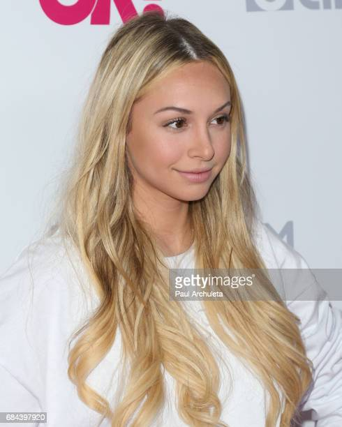 Reality TV Personality Corinne Olympios attends OK Magazine's Summer kickoff party at The W Hollywood on May 17 2017 in Hollywood California