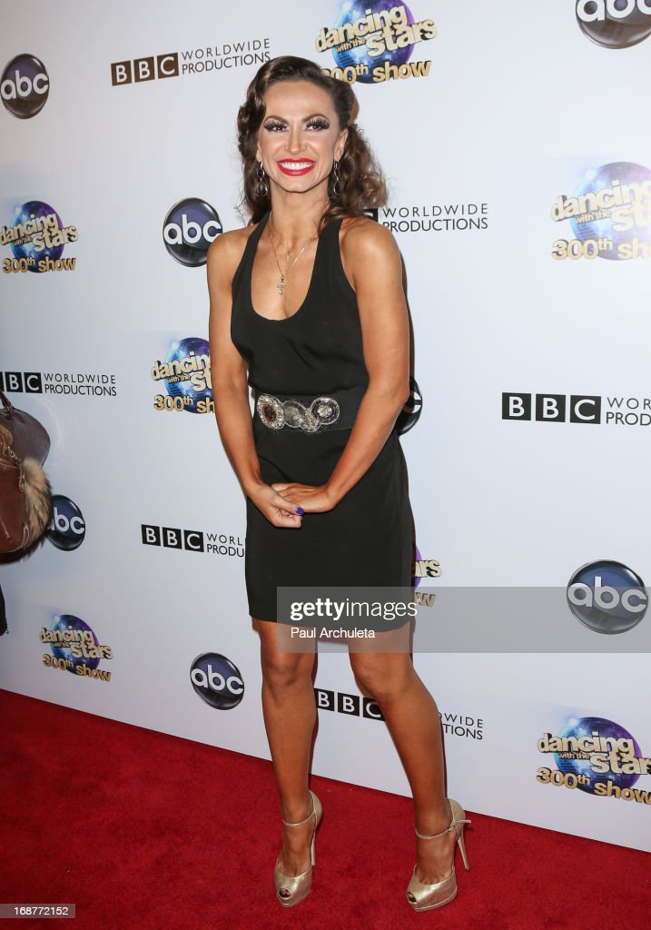 Reality TV Personality / Dancer Karina Smirnoff attends the 'Dancing With The Stars' 300th episode after party on May 14, 2013 in Los Angeles, California.