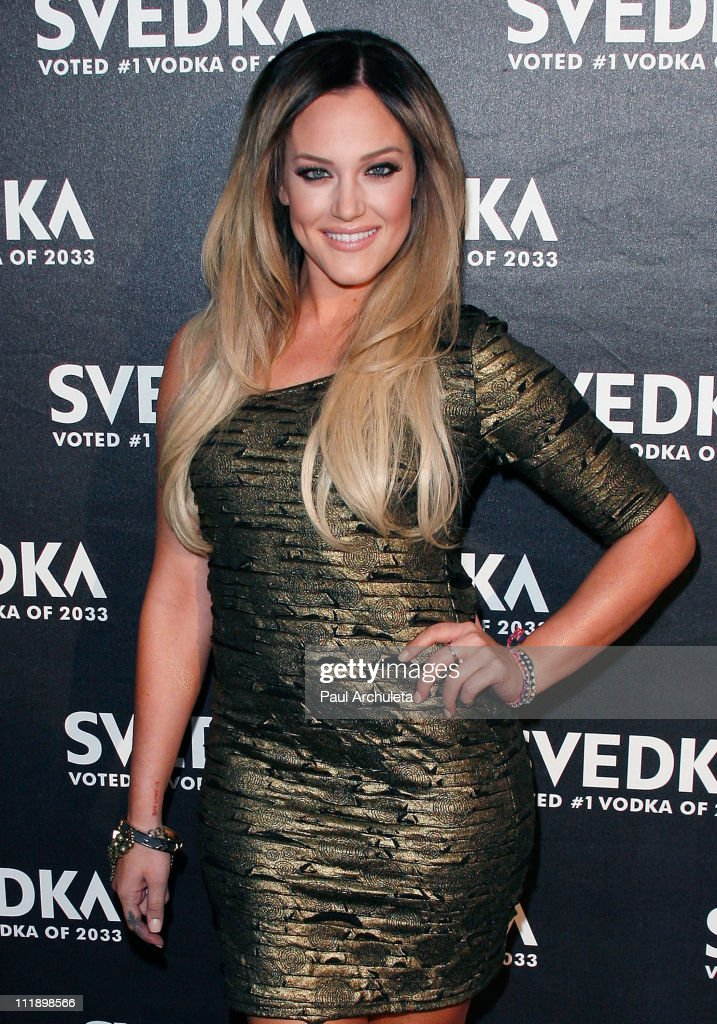 Reality TV Personality / Dancer Lacey Schwimmer arrives at the 'Night Of A Billion Stars' Reality Gala at Lexington Social House on April 7, 2011 in Hollywood, California.