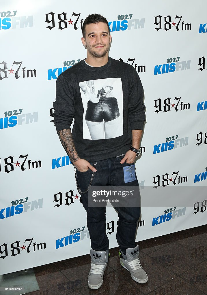 Reality TV Personality / Dancer Mark Ballas attends the 102.7 KIIS FM and 98.7 5th annual celebrity artist lounge celebrating the 55th Annual GRAMMYS at ESPN Zone At L.A. Live on February 8, 2013 in Los Angeles, California.