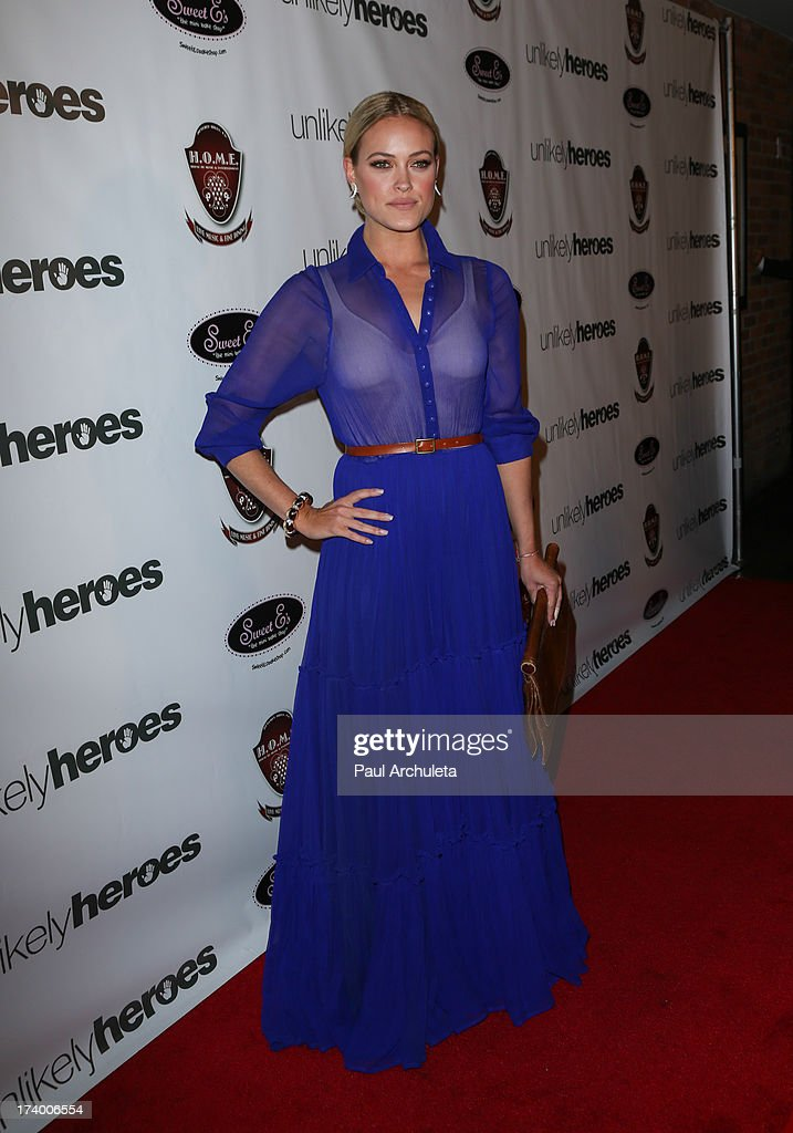 Reality TV Personality / Dancer Peta Murgatroyd attends the birthday celebration for Chelsie Hightower and Peta Murgatroyd and also supporting the 'Unlikely Heroes' charity organization on July 18, 2013 in Los Angeles, California.