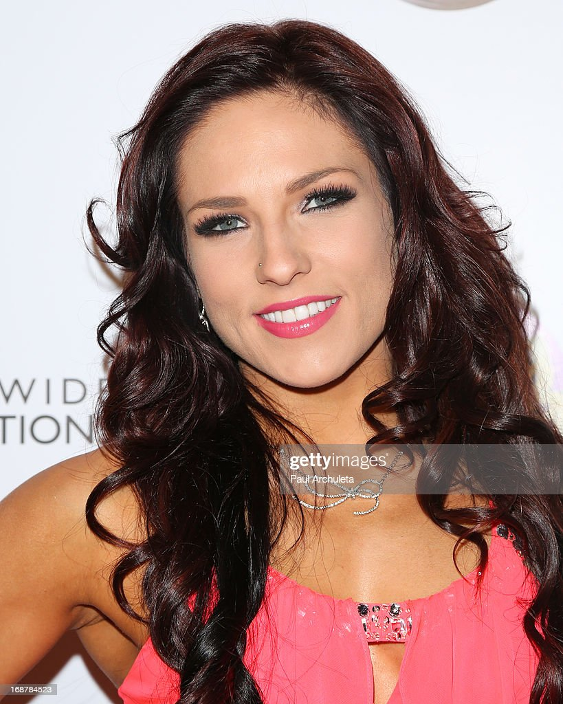 Reality TV Personality / Dancer Sharna Burgess attends the 'Dancing With The Stars' 300th episode after party on May 14, 2013 in Los Angeles, California.