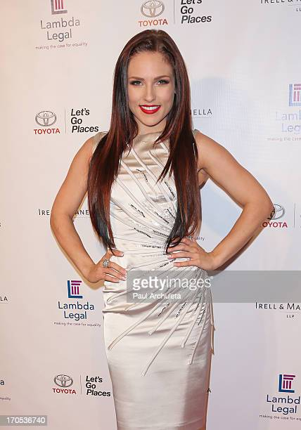 Reality TV Personality / Dancer Sharna Burgess attends the West Coast Liberty Awards celebrating Lambda Legal's 40th anniversary at The London Hotel...