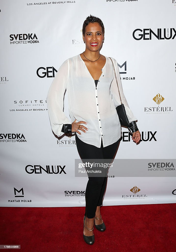 Reality TV Personality Daphne Wayans attends the Genlux Magazine release party at Sofitel Hotel on August 29, 2013 in Los Angeles, California.