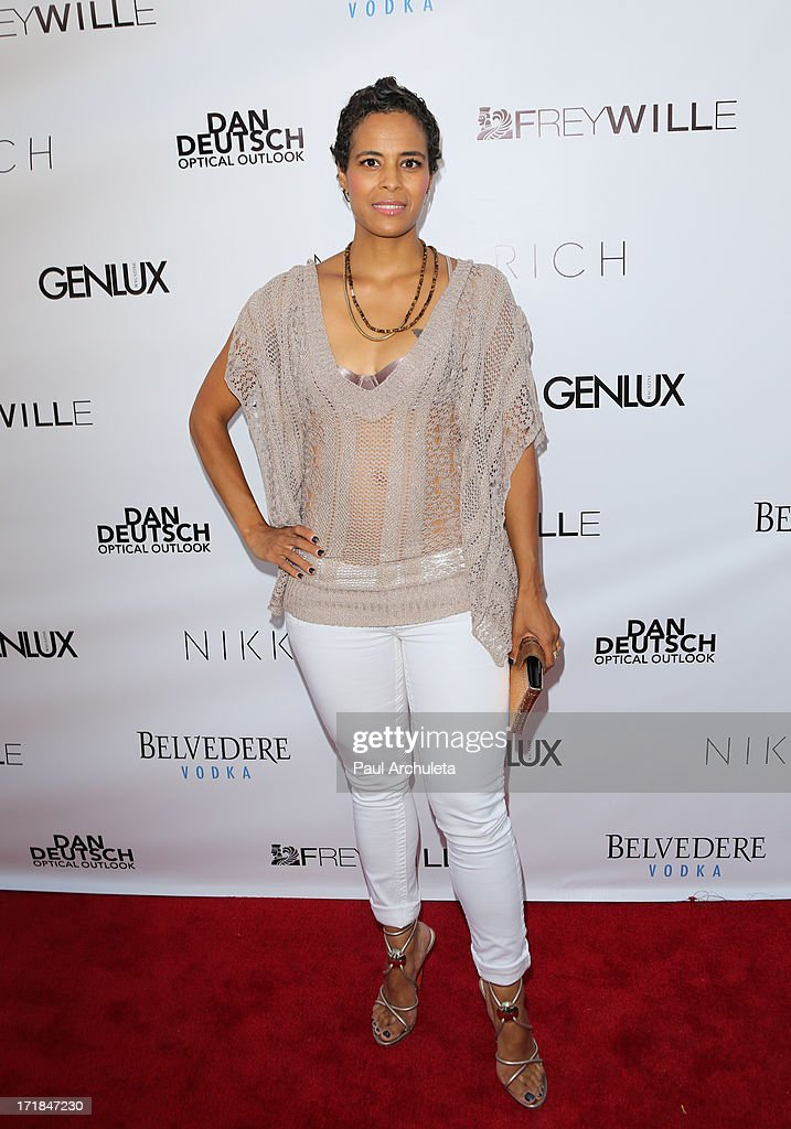 Reality TV Personality Daphne Wayans attends the Genlux Magazine summer issue release party at the Luxe Rodeo Drive Hotel on June 28, 2013 in Beverly Hills, California.