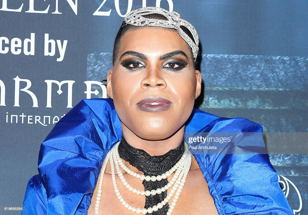 Reality TV Personality EJ Johnson attends Maxim Magazine's annual Halloween party on October 22, 2016 in Los Angeles, California.