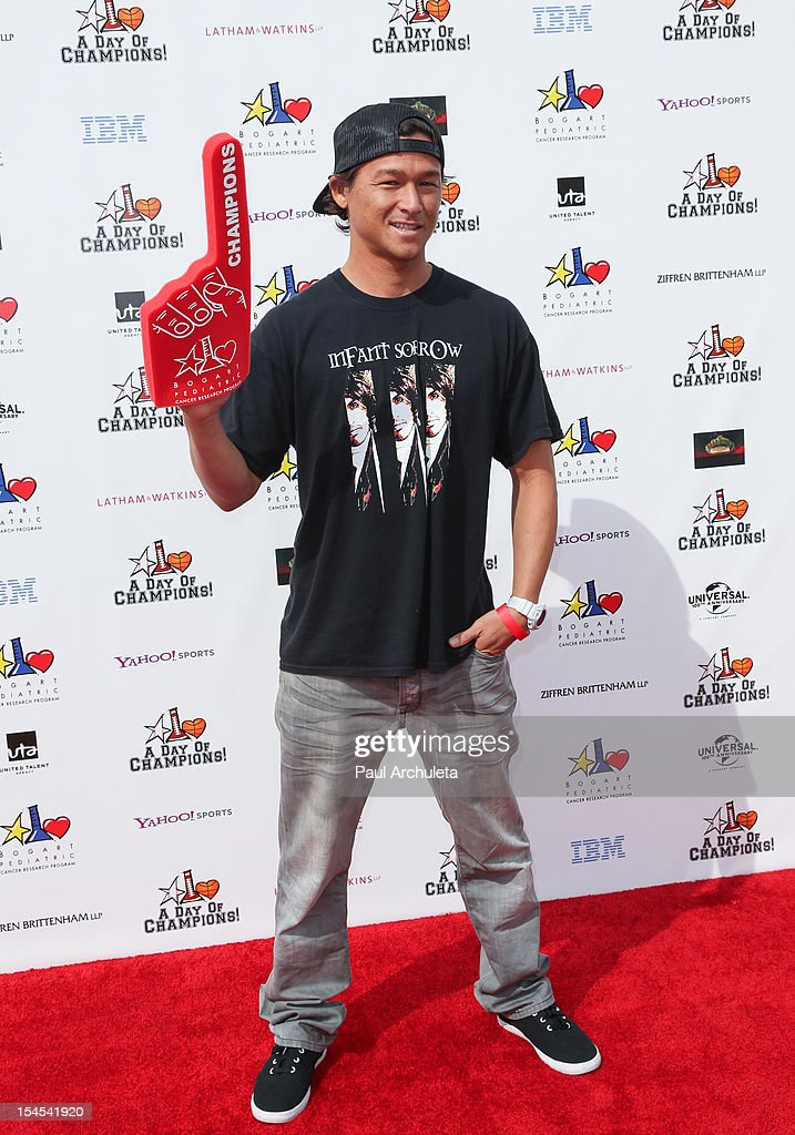 Reality TV Personality Jake Walker attends 'A Day Of Champions' benefiting the Bogart Pediatric Cancer Research Program at the Sports Museum of Los Angeles on October 21, 2012 in Los Angeles, California.