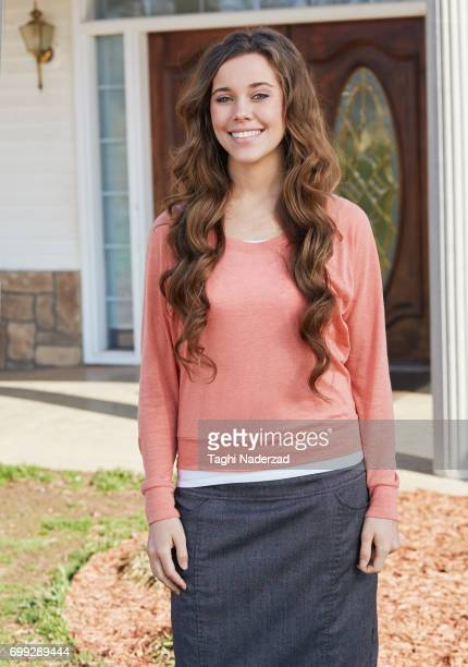Reality TV personality Jessa Duggar Seewald is photographed for People Magazine on March 16 2015 in Springdale Arkansas