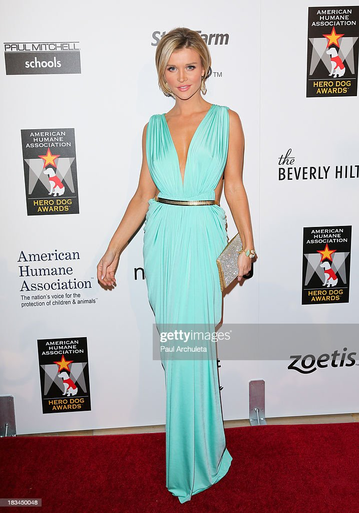 Reality TV Personality <a gi-track='captionPersonalityLinkClicked' href=/galleries/search?phrase=Joanna+Krupa&family=editorial&specificpeople=224038 ng-click='$event.stopPropagation()'>Joanna Krupa</a> attends the 3rd annual American Humane Association Hero Dog Awards at The Beverly Hilton Hotel on October 5, 2013 in Beverly Hills, California.