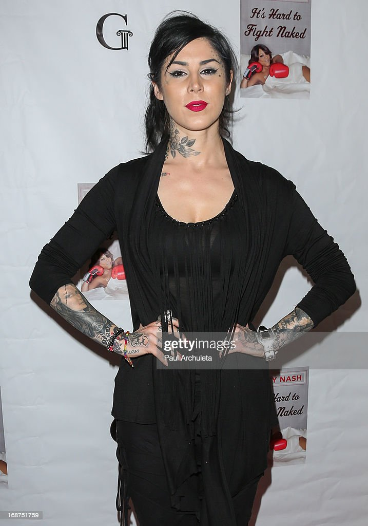 Reality TV Personality Kat Von D attends the release party for Niecy Nash new book 'It's Hard To Fight Naked' at the Luxe Rodeo Drive Hotel on May 14, 2013 in Beverly Hills, California.