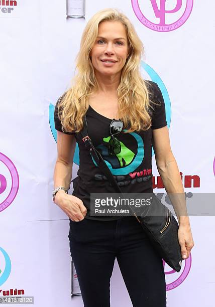 Reality TV Personality Kathryn Edwards attends the stop YulinForever march to end dog cruelty In Yulin China at MaCarthur Park Recreation Center on...