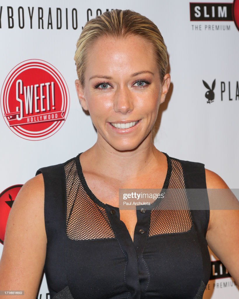 Reality TV Personality <a gi-track='captionPersonalityLinkClicked' href=/galleries/search?phrase=Kendra+Wilkinson&family=editorial&specificpeople=539064 ng-click='$event.stopPropagation()'>Kendra Wilkinson</a> attends the Birthday Party for Playboy Radio and TV Personality Jessica Hall at Sweet Candy store on June 26, 2013 in Hollywood, California.