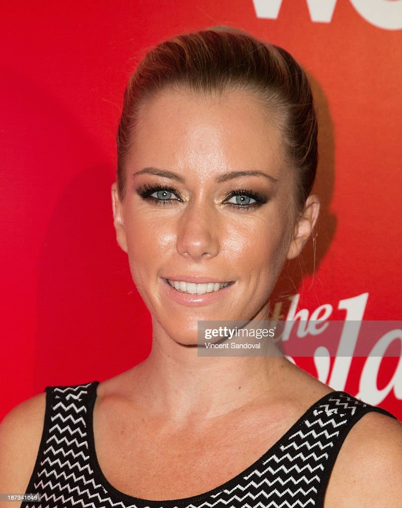 Reality Tv personality Kendra Wilkinson attends WE tv's premiere party for 'The LYLAS' at Warwick on November 7, 2013 in Hollywood, California.