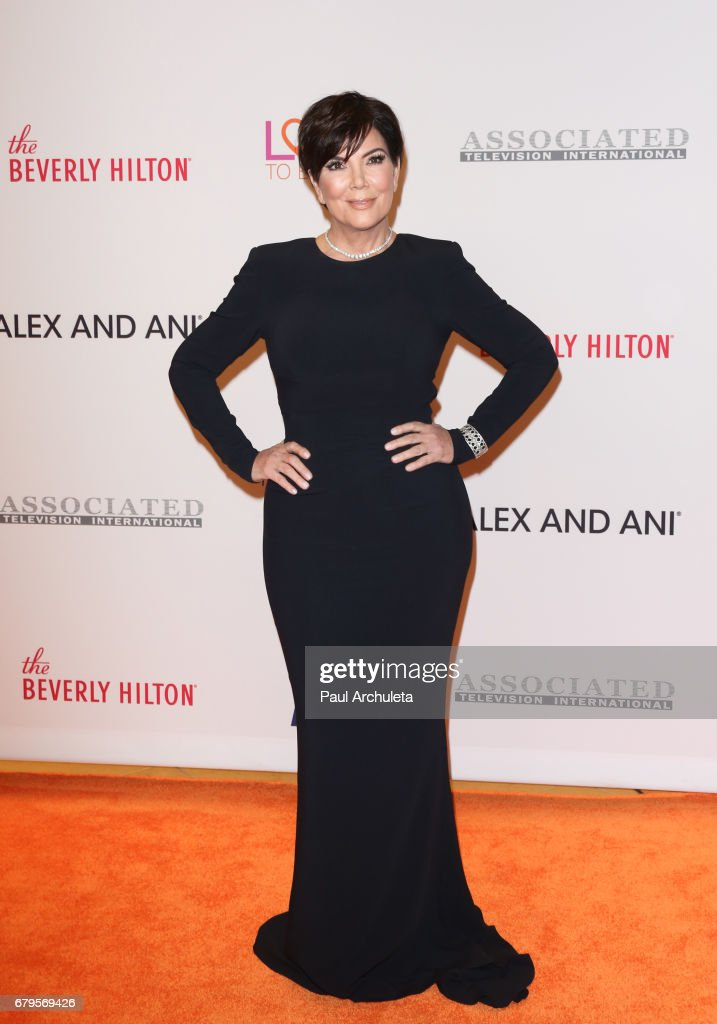 Reality TV Personality Kris Jenner attends the 24th annual Race To Erase MS Gala at The Beverly Hilton Hotel on May 5, 2017 in Beverly Hills, California.