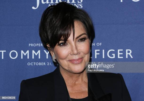Reality TV Personality Kris Jenner attends the Tommy Hilfiger VIP reception and Julien's Auctions on October 19 2017 in Los Angeles California