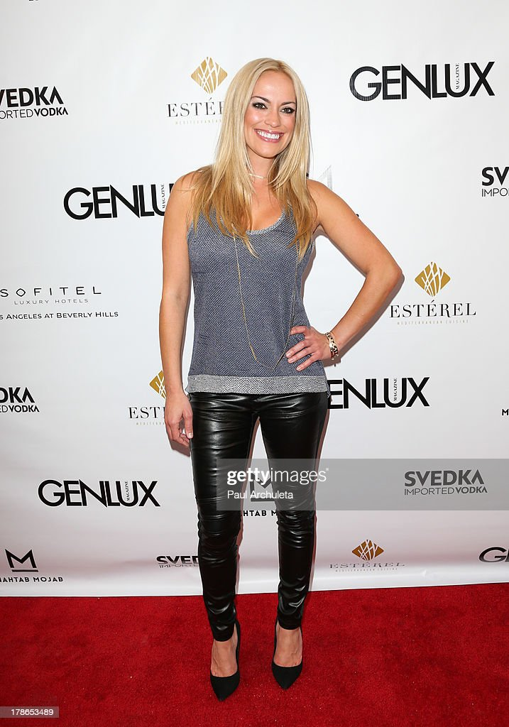 Reality TV Personality Kyle Keller attends the Genlux Magazine release party at Sofitel Hotel on August 29, 2013 in Los Angeles, California.