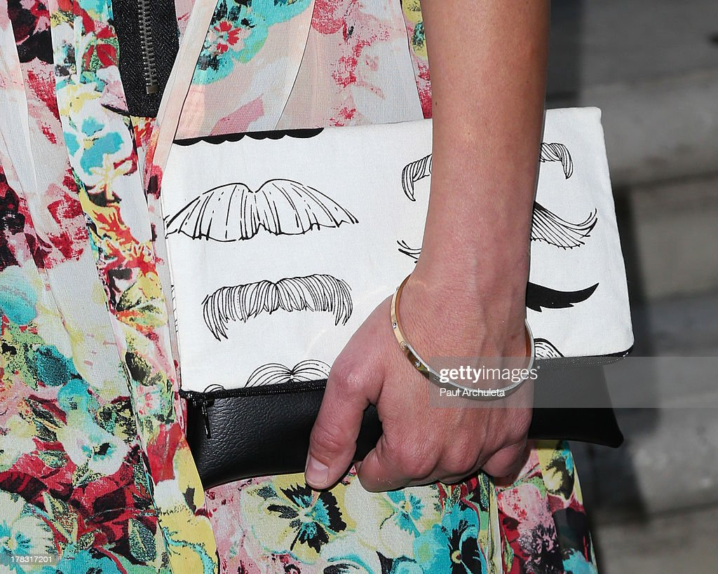 Reality TV Personality Kyle Keller (Handbag Detail) hosts a screening of VH1's 'Tough Love' at The Parlor on August 28, 2013 in West Hollywood, California.