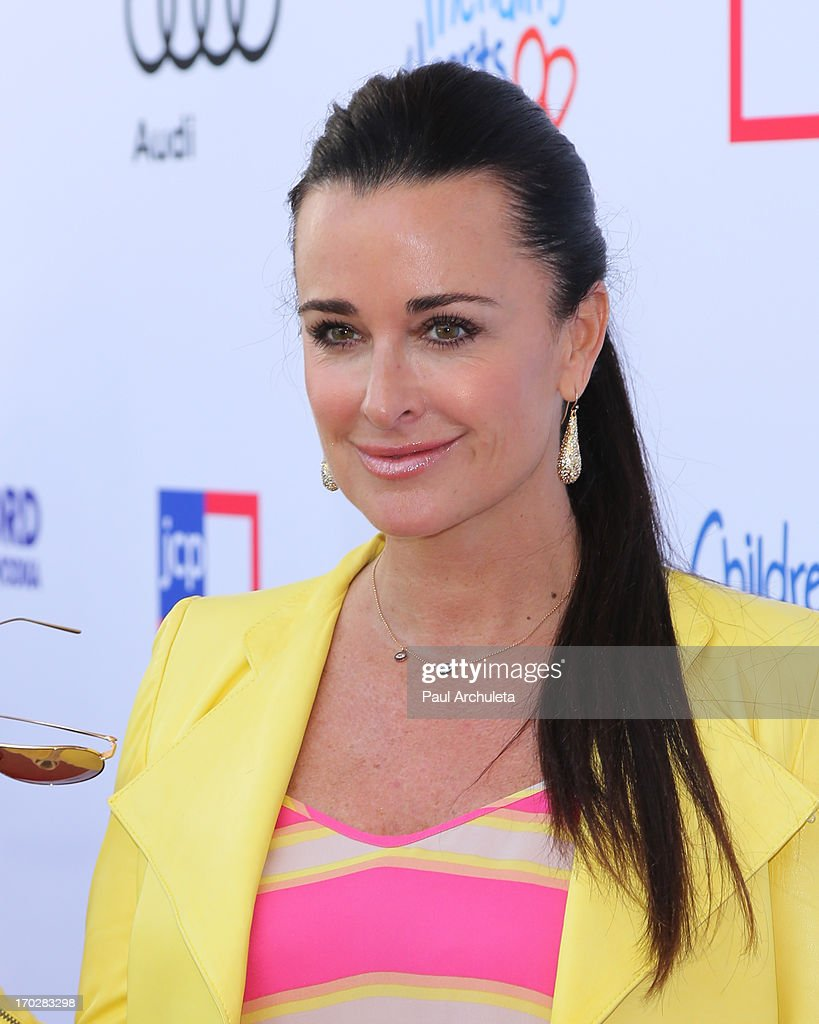 Reality TV Personality <a gi-track='captionPersonalityLinkClicked' href=/galleries/search?phrase=Kyle+Richards&family=editorial&specificpeople=2586434 ng-click='$event.stopPropagation()'>Kyle Richards</a> attends the 1st annual Children Mending Hearts Style Sunday on June 9, 2013 in Beverly Hills, California.