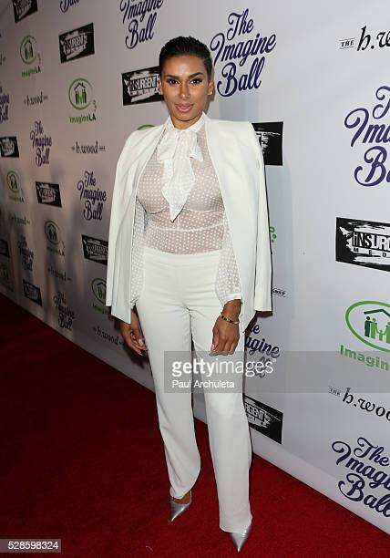 Reality TV Personality Laura Govan attends the 3rd annual Imagine Ball at Bootsy Bellows Night Club on May 5 2016 in West Hollywood California
