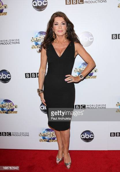 Reality TV Personality Lisa Vanderpump attends the 'Dancing With The Stars' 300th episode after party on May 14 2013 in Los Angeles California