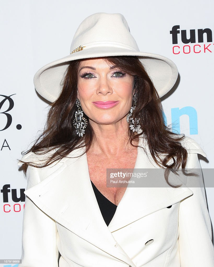 Reality TV Personality Lisa Vanderpump attends the Get Festive With Frankie B. and Kitson event at Kitson on Roberston on December 6, 2012 in Beverly Hills, California.