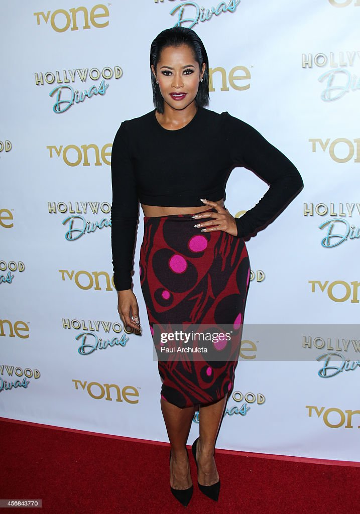 Reality TV Personality Lisa Wu attends the premiere party for TV One's 'Hollywood Divas' at OHM Nightclub on October 7 2014 in Hollywood California