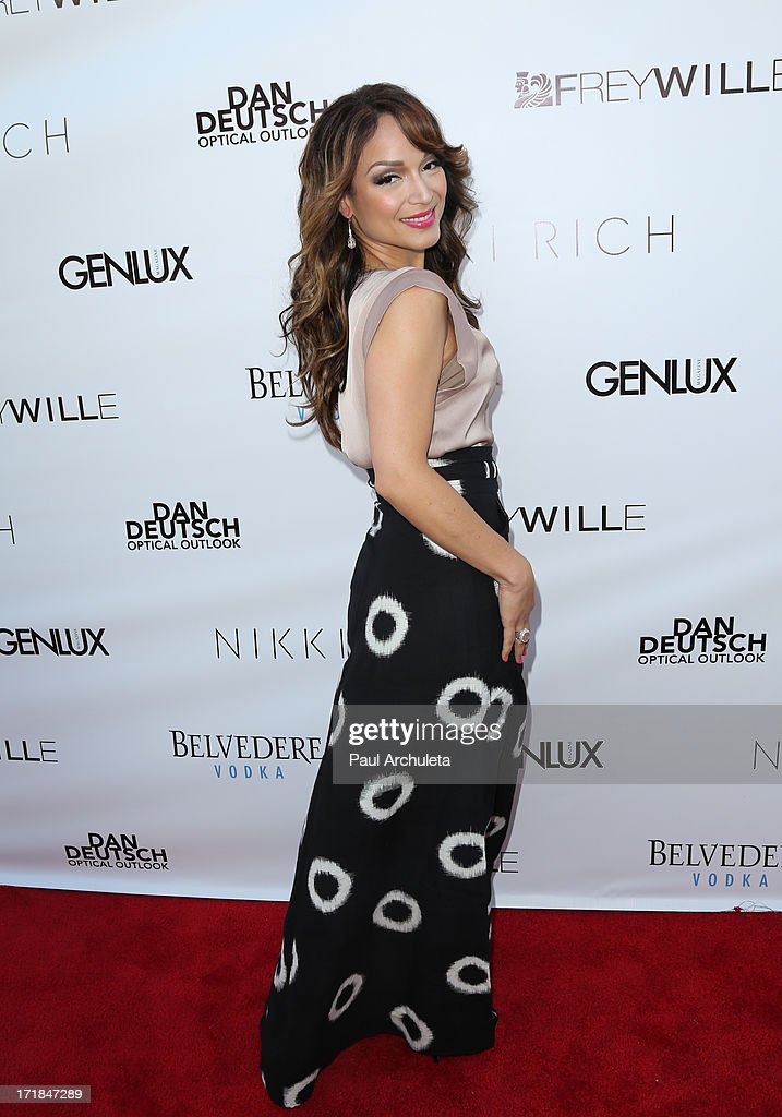 Reality TV Personality Mayte Garcia attends the Genlux Magazine summer issue release party at the Luxe Rodeo Drive Hotel on June 28, 2013 in Beverly Hills, California.