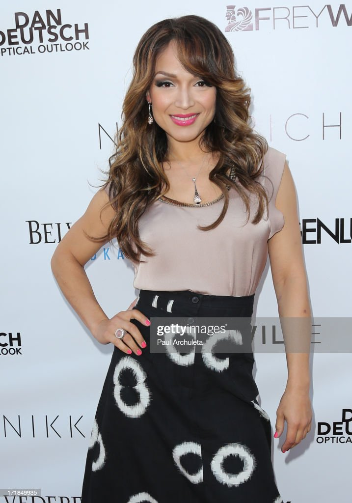 Reality TV Personality <a gi-track='captionPersonalityLinkClicked' href=/galleries/search?phrase=Mayte+Garcia&family=editorial&specificpeople=797179 ng-click='$event.stopPropagation()'>Mayte Garcia</a> attends the Genlux Magazine summer issue release party at the Luxe Rodeo Drive Hotel on June 28, 2013 in Beverly Hills, California.