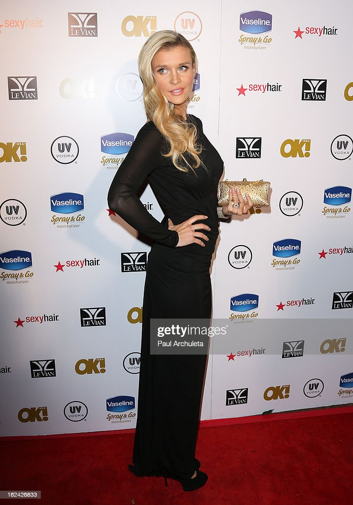 Reality TV Personality / Model Joanna Krupa attends OK! Magazine's Pre-Oscar party at The Emerson Theatre on February 22, 2013 in Hollywood, California.