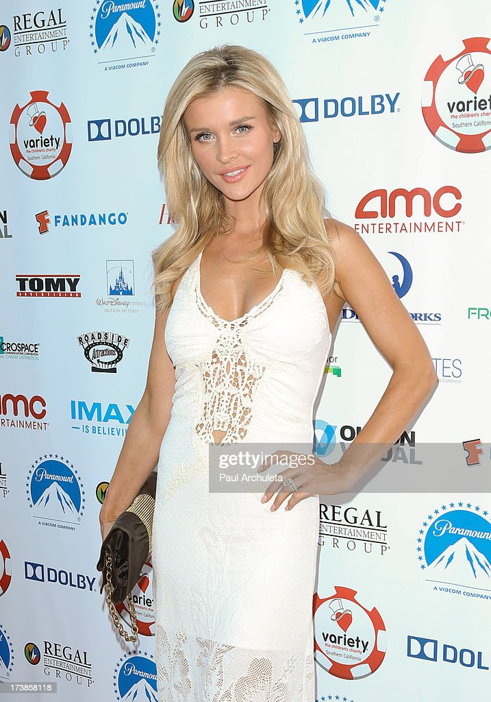 Reality TV Personality / Model <a gi-track='captionPersonalityLinkClicked' href=/galleries/search?phrase=Joanna+Krupa&family=editorial&specificpeople=224038 ng-click='$event.stopPropagation()'>Joanna Krupa</a> attends the 3rd annual Variety Charity Texas Hold 'Em Tournament & Casino Game at Paramount Studios on July 17, 2013 in Hollywood, California.