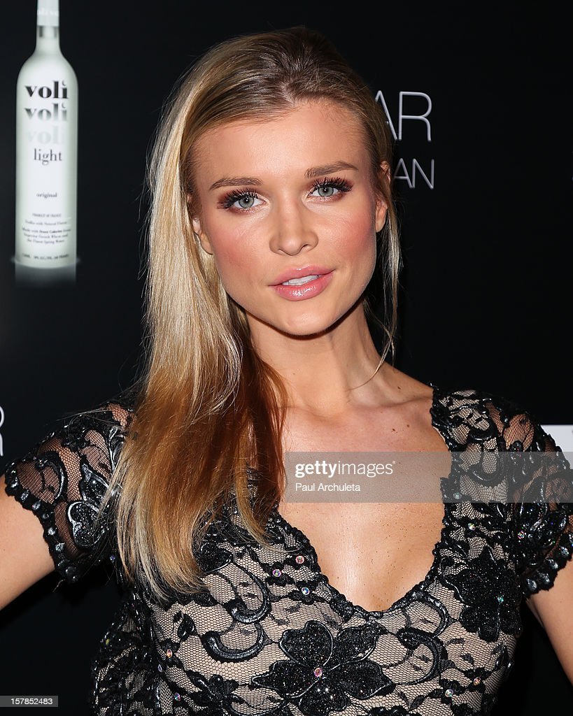 Reality TV Personality / Model Joanna Krupa attends the Cell Phones For Soldiers charity event sponsored by Voli Light Vodka at Sky Bar in the Mondrian Hotel on December 6, 2012 in West Hollywood, California.
