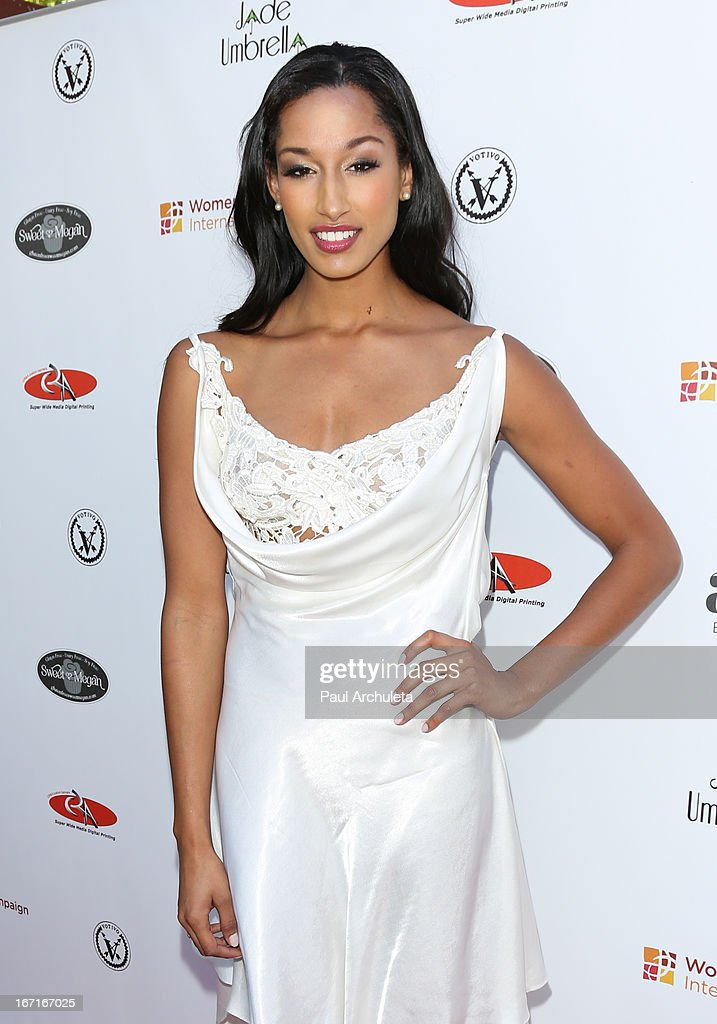 Reality TV Personality / Model Kiara Belen attends the 'Spring To Make A Difference' fundraiser event on April 21, 2013 in Beverly Hills, California.