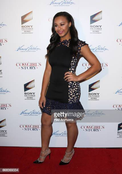 Reality TV Personality Nia Sioux attends the premiere of 'A Cowgirl's Story' at Pacific Theatres at The Grove on April 13 2017 in Los Angeles...