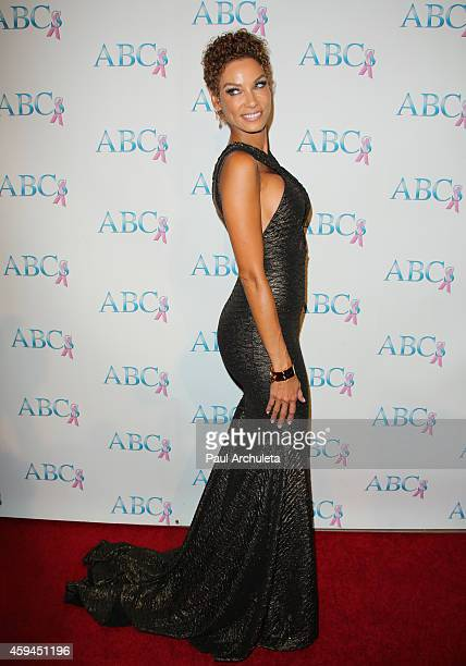 Reality TV Personality Nicole Murphy attends the 25th annual 'Talk Of The Town' black tie gala at The Beverly Hilton Hotel on November 22 2014 in...