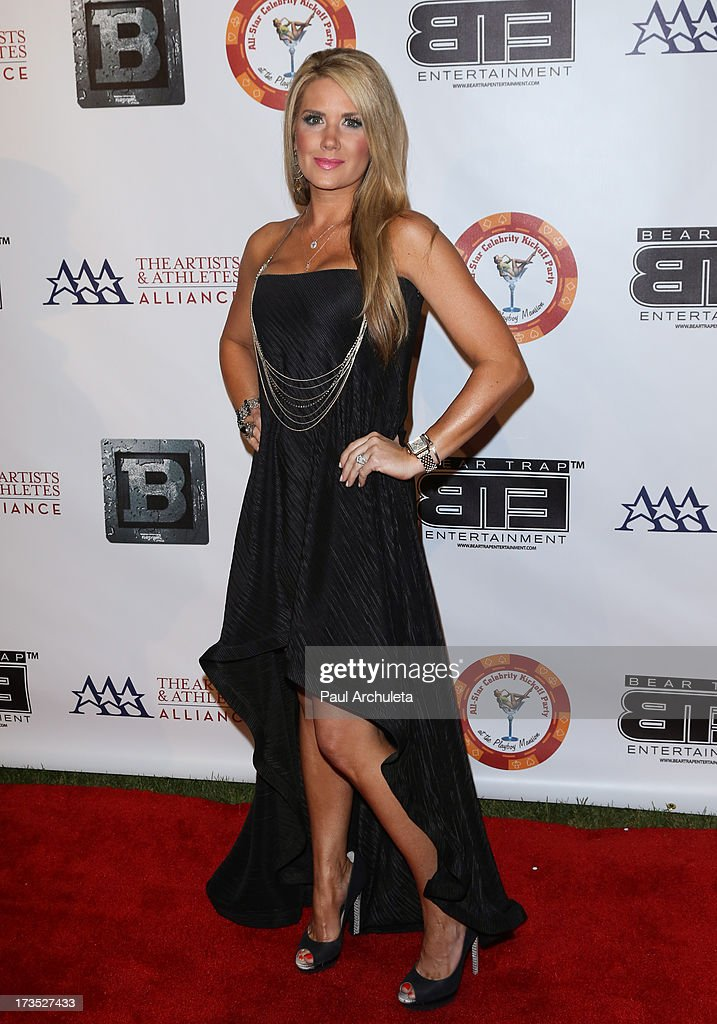 Reality TV Personality Nicole Noles attends the 8th annual BTE All-Star Celebrity Kickoff Party at The Playboy Mansion on July 15, 2013 in Beverly Hills, California.