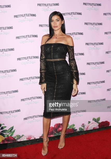 Reality TV Personality Nicole Williams attends the PrettyLittleThing X launch at Liaison Lounge on August 17 2017 in Los Angeles California