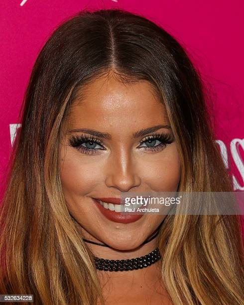 Reality TV Personality Olivia Pierson attends OK Magazine's So Sexy LA party at SkyBar at the Mondrian Los Angeles on May 18 2016 in West Hollywood...