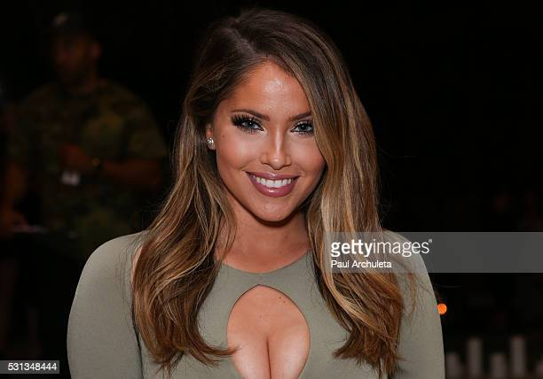 Reality TV Personality Olivia Pierson attends Shaun Phillips surprise birthday party on May 13 2016 in West Hollywood California