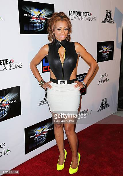 Reality TV Personality / Recording Artist Karlie Redd attends the 'Party After' the 2013 BET Awards hosted by Chris Brown and Nick Cannon at The...
