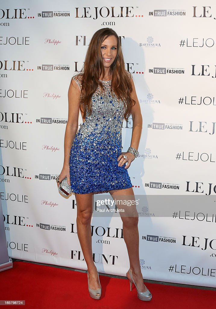 Reality TV Personality Sarah Winchester attends the LeJolie.com launch party at No Vacancy Night Club on October 24, 2013 in Los Angeles, California.