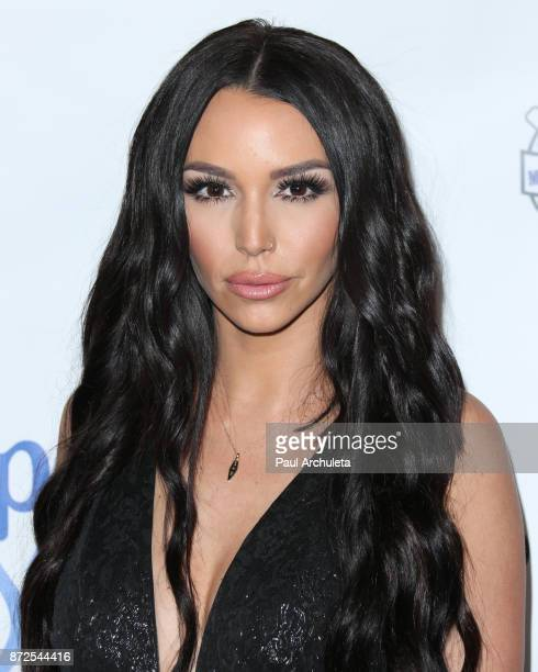Reality TV Personality Scheana Marie attends the 2nd annual Vanderpump Dog Foundation Gala at Taglyan Cultural Complex on November 9 2017 in...