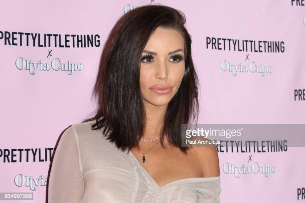 Reality TV Personality Scheana Marie attends the PrettyLittleThing X launch at Liaison Lounge on August 17 2017 in Los Angeles California