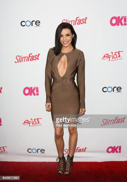 Reality TV Personality Scheana Marie Shay attends OK Magazine's preGRAMMY event at Avalon Hollywood on February 9 2017 in Los Angeles California